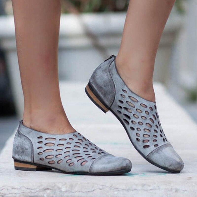2019 Frauen Schuhe Hot Elegante Sandalen Für Frau Ausschnitte Frauen Sandalen Offene Spitze Breathble Niedrigen Sommer Schuhe Strand Schuhe Plus Größe Diversifiziert In Der Verpackung