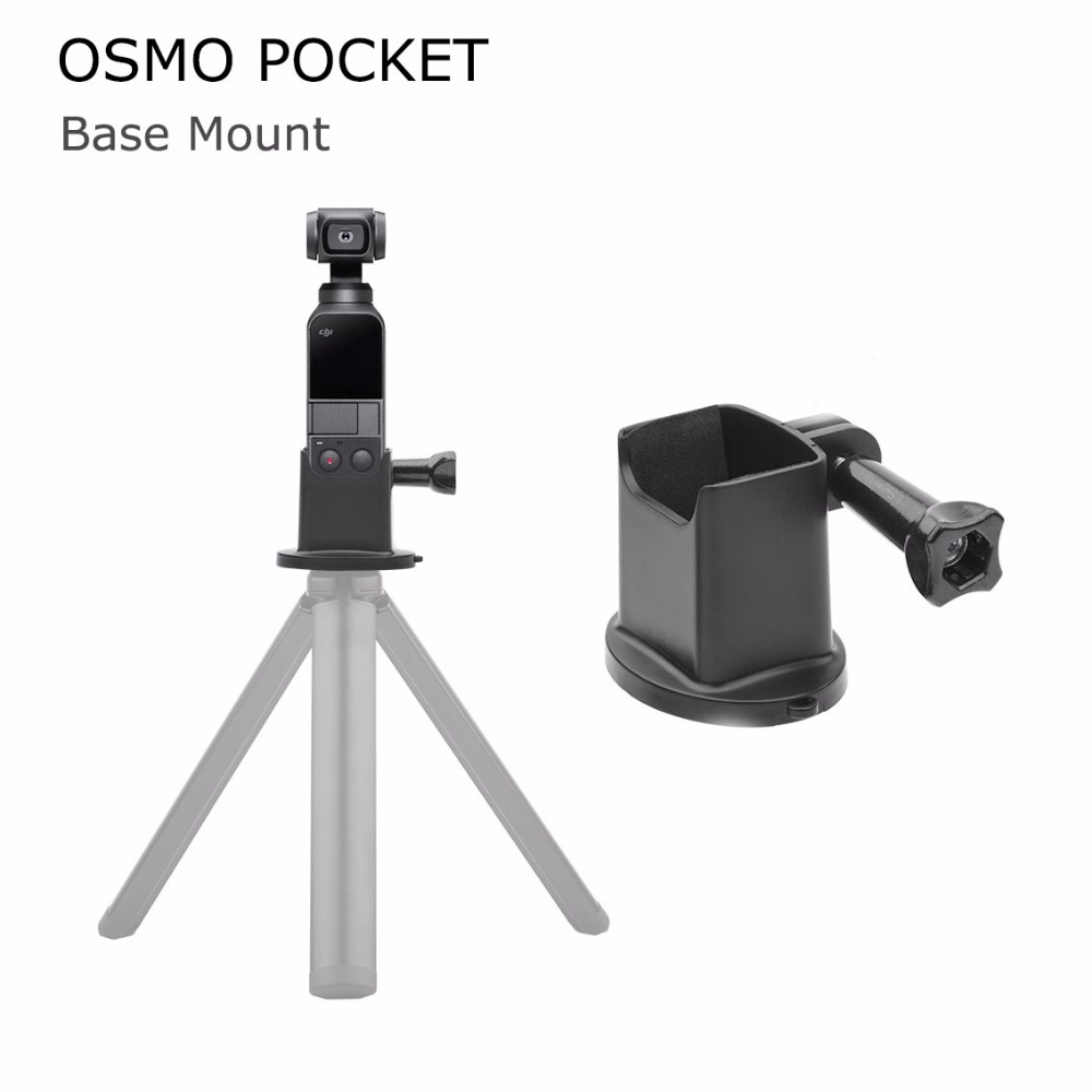 DJI OSMO Pocket Support Desktop Base Mount Holder Handheld Gimbal Adapter Selfie Stick Connector  for OSMO POCKET AccessoryDJI OSMO Pocket Support Desktop Base Mount Holder Handheld Gimbal Adapter Selfie Stick Connector  for OSMO POCKET Accessory