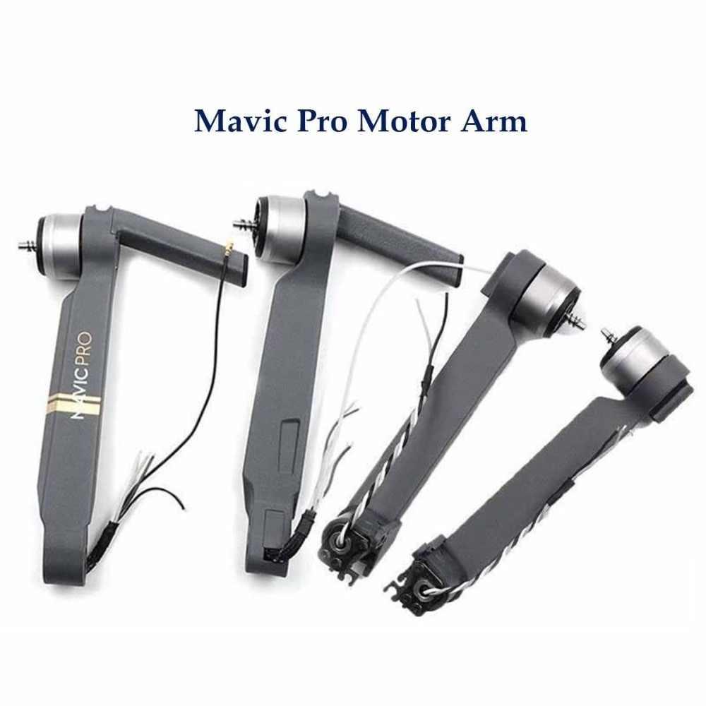 ذراع المحرك الأصلي للخلف واليسار واليمين Mavic Pro مع كابل قطع غيار DJI Mavic pro Arm مع ملحقات إصلاح المحرك