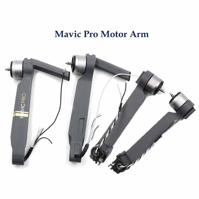 Original Front Back Left Right Mavic Pro Motor Arm With Cable Spare parts DJI Mavic pro Arm with motor Repair Accessories(USED)