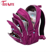 TEGAOTE School Backpack For Teenage Girl Mochila Feminina Wo