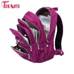TEGAOTE School Backpack For Te