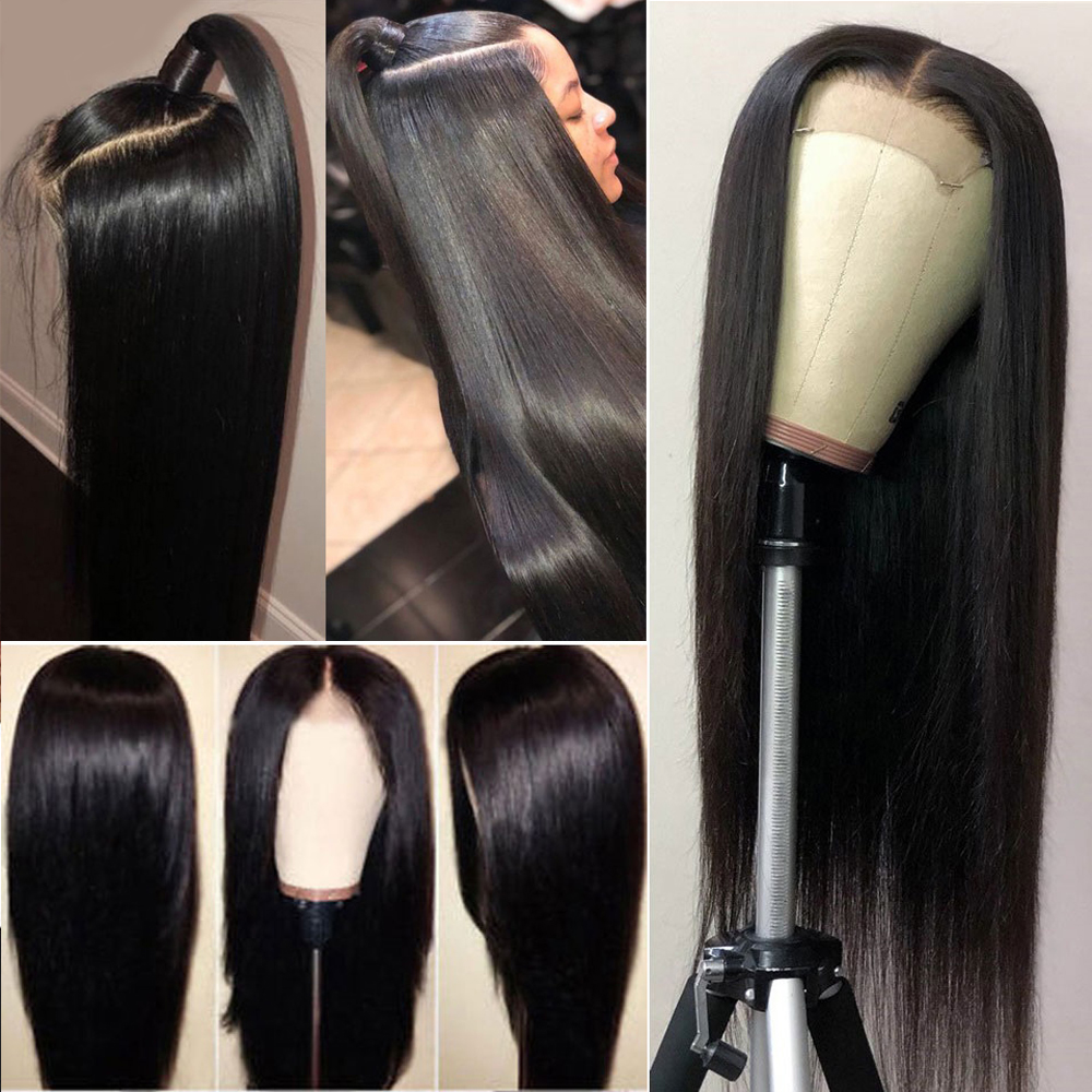 Beaudiva 13x4 Straight Lace Front  Wigs  Pre Plucked  Hair Wig 360 Lace Frontal Straight  Wigs 6