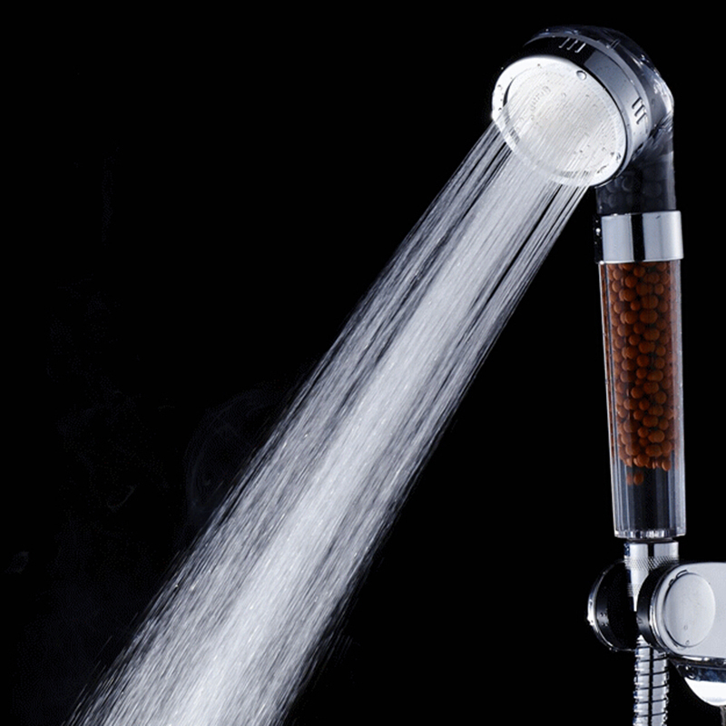 New Shower Filter Anion Tourmaline Supercharged Super Water Saving ...
