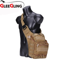 GLEEGLING Sac De Sport Fishing Waist Belt Tackle Bag Waist Shoulder Pack Case Reel Lure Line Hook Tackle Fanny Bag Pack