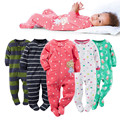 2017 new Baby Clothing Boy Girl Footed Rompers Animal Baby Romper Long Sleeve Fleece Sleep Clothes Pajamas New born Baby Product