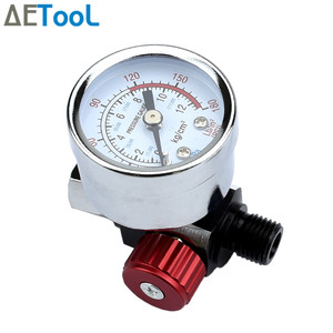 Image 4 - AETool Spray Gun Adjust Air Pressure Regulator Gauge Car Auto Repair Painting Tool Spray Gun Accessories Pneumatic Gun Regulator