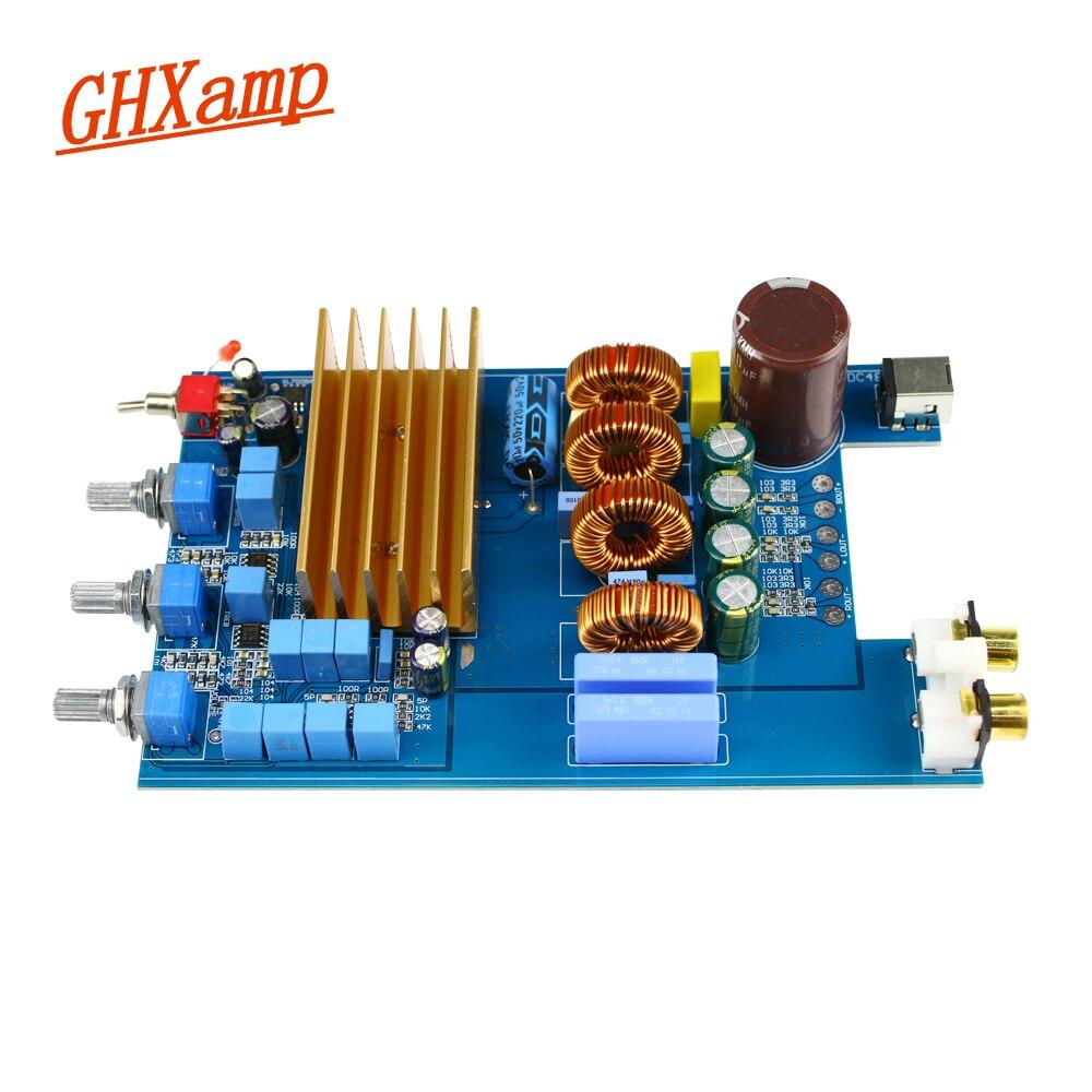GHXAMP TPA3255 carte amplificateur Hifi numérique 150 W * 2 + 300 W classe D 2.1 canaux carte amplificateur haute puissance DC 30 V-48 V 1 pc