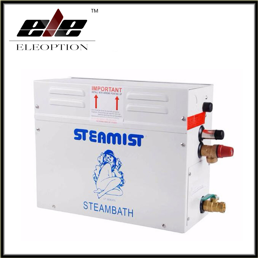 High Quality 9KW 220-240V Steam Generator Sauna Bath SPA Shower with ST-135M controller Stable performance