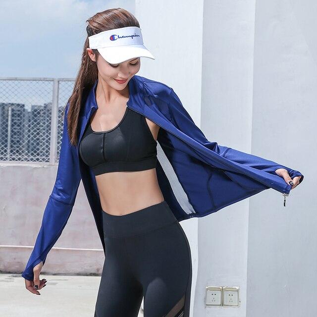 2020 Fashionable Sports Jacket for Yoga  6