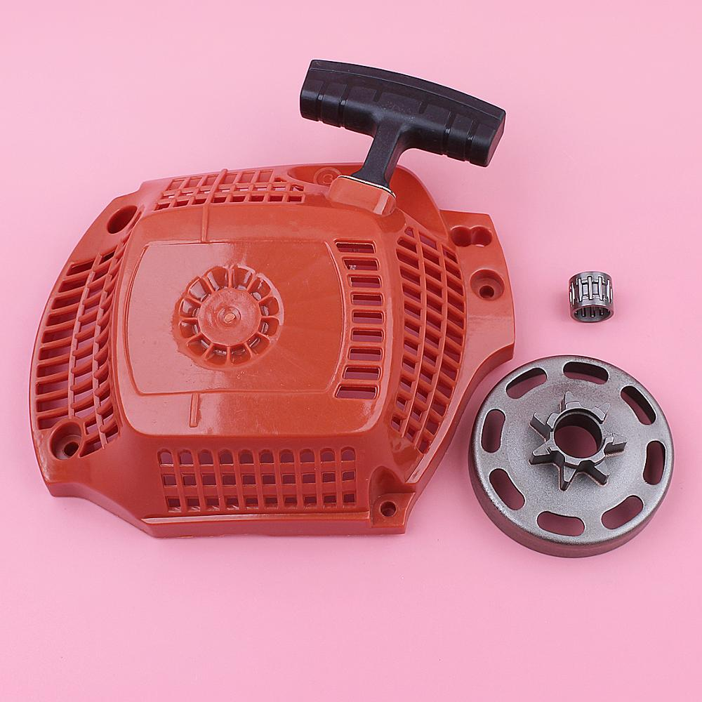 Chainsaw Clutch Drum 325inch Part Recoil 7 Pull Starter Husqvarna For 435 Replace 440 Teeth Rewind Spare Bearing
