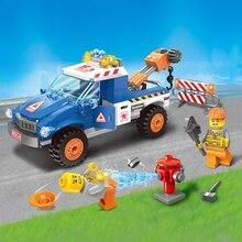 エンジニアシリーズ車モデル高速道路クリア障害物フィギュアレンガ Legoingly 207 個教育ビルディングブロックと互換性のおもちゃ