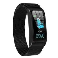 Volemer AK12 Smart bracelet Color Screen Ip67 Waterproof Watch sphygmomanometer menstrual cycle activity monitor Smart Band