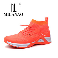 MILANAO 2017 New Arrival Man Athletic Light Outdoor Running Shoes Sports Shoes Mesh Breathable Sneakers 3