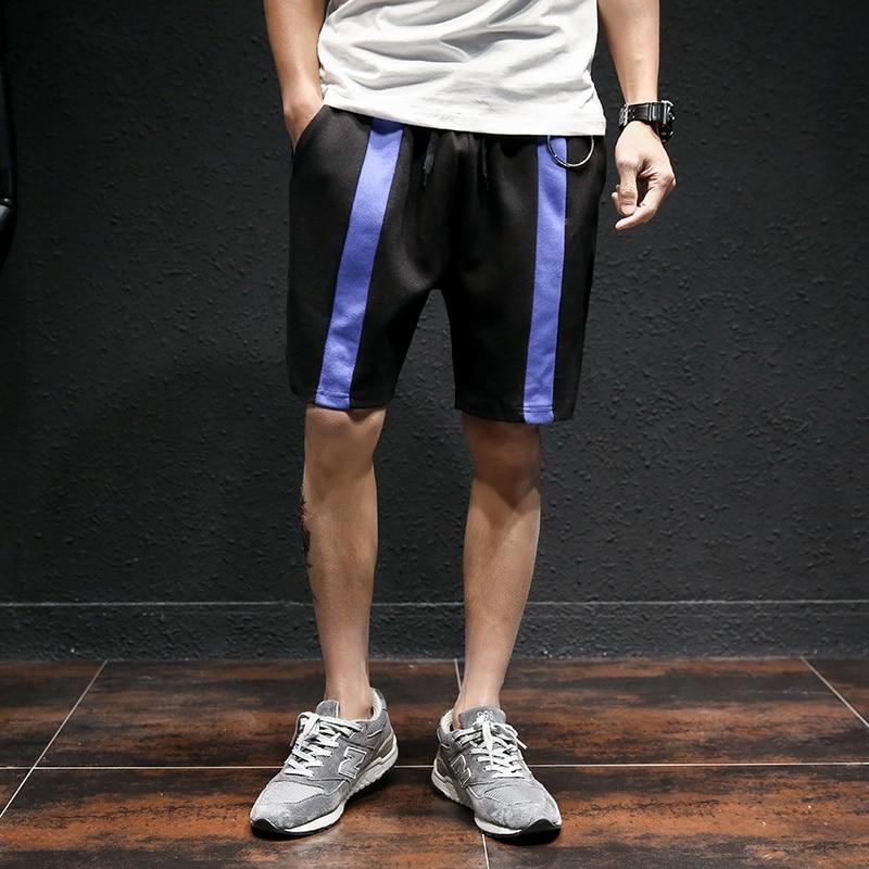 Japan Style Summer Men Shorts 2017 Fashion Elastic Waist Casual Beach Short Mens Knee Length