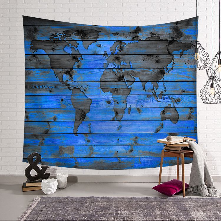 Galaxy psychedelic wall tapestry wall hanging world map 3D print home decor wall blanket farmhouse psychedelic tapestry carpet in Tapestry from Home Garden