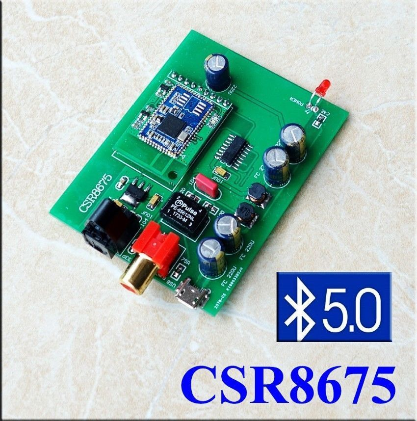 Aptx Hd Wireless Auido Receiver Bluetooth 5 0 Csr8675