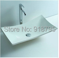 BATHROOM ABOVE COUNTER TOP BASIN STONE SOLID SURFACE MATT FINISH CORIAN WASHBASIN 3808 483