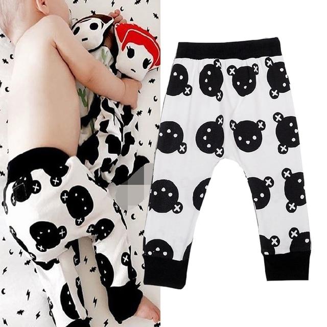 Free Shipping Boys Harem Pants Bear Cartoon Pattern Children Pants