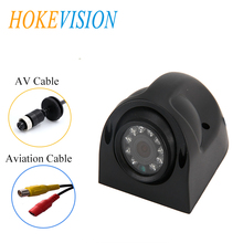 HOKEVISION Reverse Camera Heavy Duty 10 LED IR Night Vision Waterproof IP 68 Rear View Camera For Truck/Bus/RV/Vehicle backup pa цены