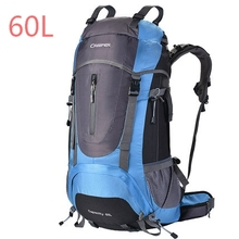 60L Outdoor Sport Bag for Outdoor Camping,70X35X23CM HB183 60L  Waterproof Hiking Bagpack Rain cover 70X35X23CM