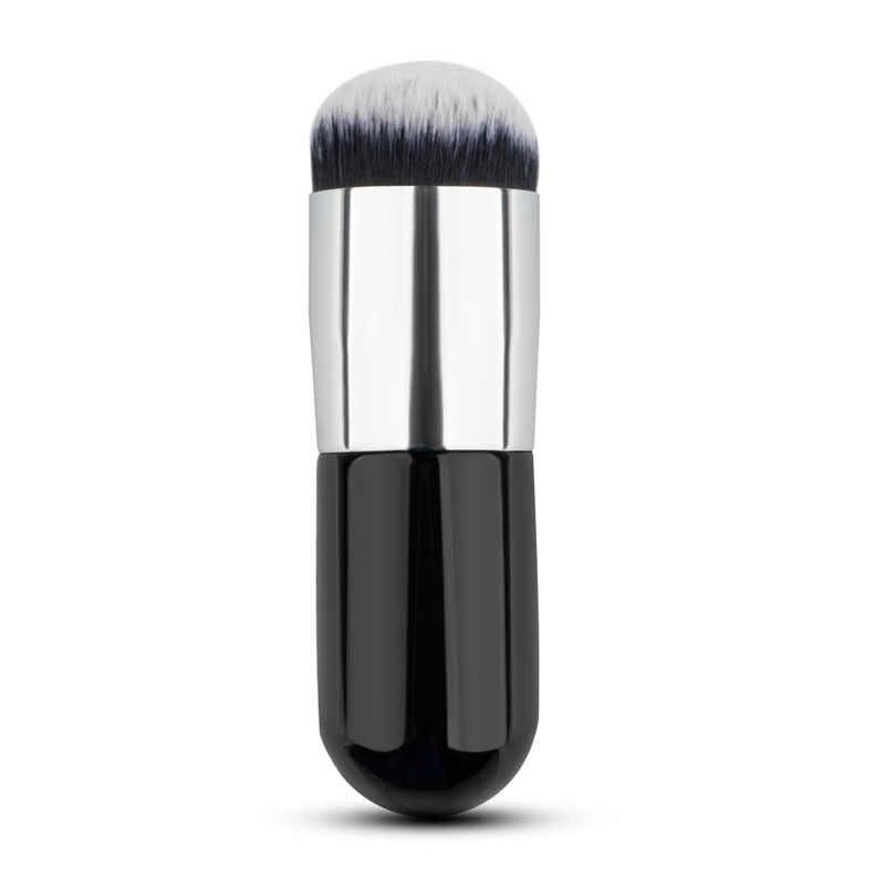 חדש שטוח קרן פנים סומק הקאבוקי אבקת קונטור איפור מברשת קוסמטי כלי