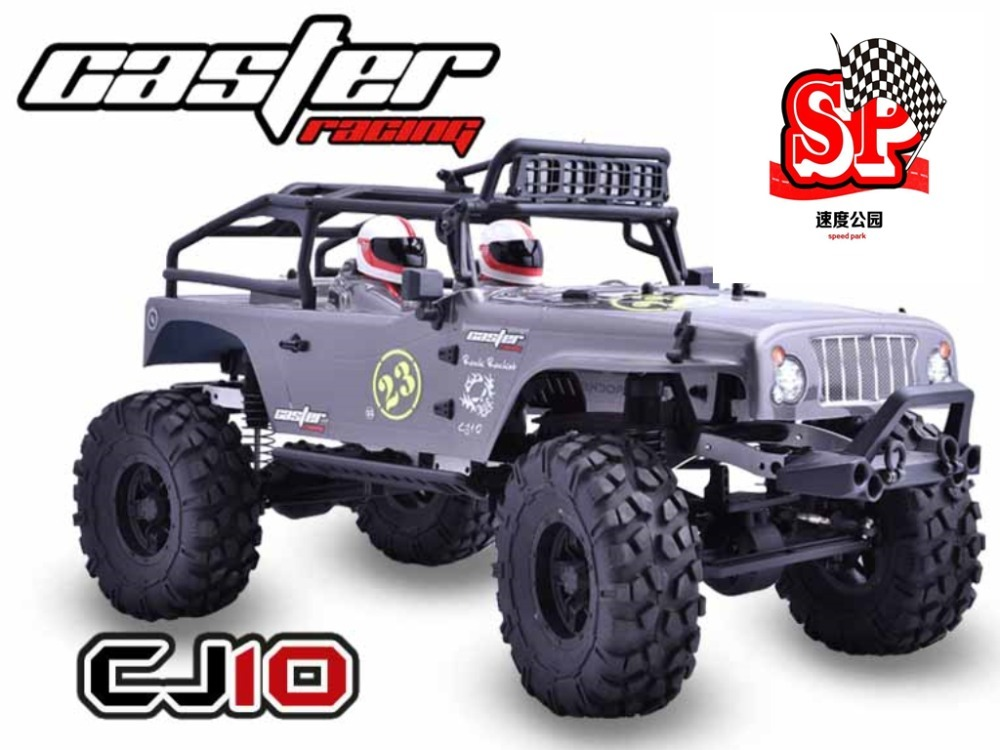 Caster 1/10 4WD JEEP CJ10 RTR remote control model car off-road rock climbing truck RC hsp rc car 1 10 electric power remote control car 94601pro 4wd off road short course truck rtr similar redcat himoto racing