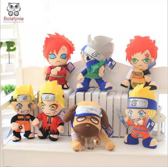 Plush Toys Detective Conan Prince Tennis Naruto doll gift Stuffed toy 5pc conan action figure detective conan doll boxes high quality toy anime action figure garage kits gift of mini conan model