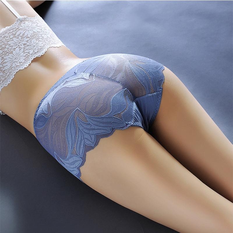 2pcs/lot women's Underwear lace Mid-Rise briefs   panties   sexy lingerie women underwear shorts culotte Briefs   panties   for women