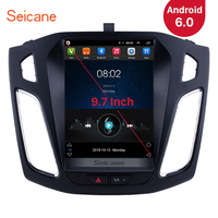 Seicane 9.7 inch Android 6.0 Car Stereo Radio Head Unit GPS Navi for Ford Focus 2012 2013 2014 2015 Support OBD2 Rearview Camera