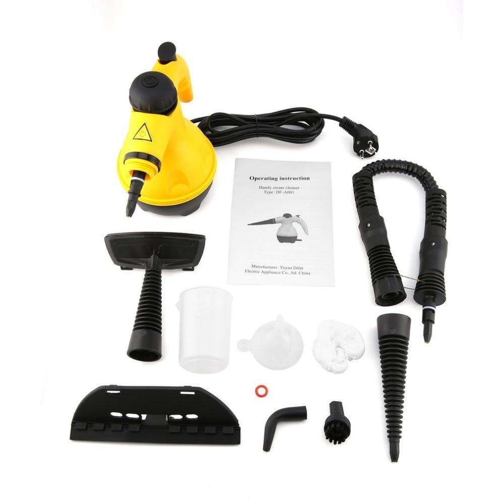 Multi-usages électrique nettoyeur à vapeur Portable à main vapeur ménage nettoyant accessoires cuisine brosse outil - 3