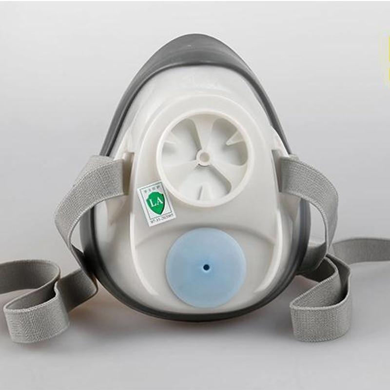 3 M 1201 Yarım yüz Toz gaz maskesi karşı Organik Gaz Maskesi - Güvenlik ve Koruma - Fotoğraf 4