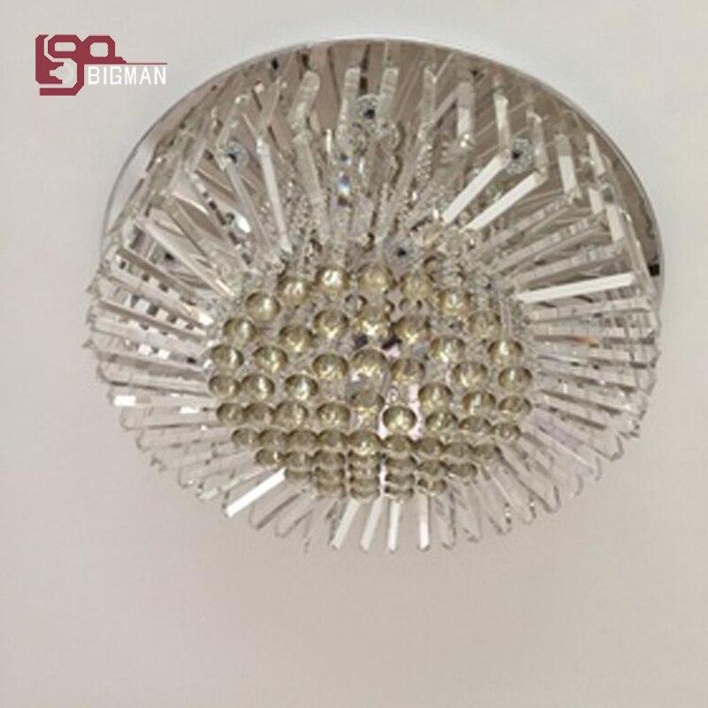 Zeer Luxe crystal plafondlamp moderne LED lustre plafonnier diameter 50 @GL82