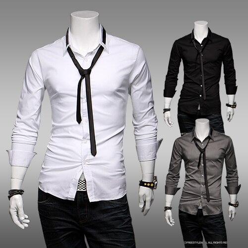 Aliexpress.com : Buy Free Shipping New Men Casual Slim Stylish Hot ...