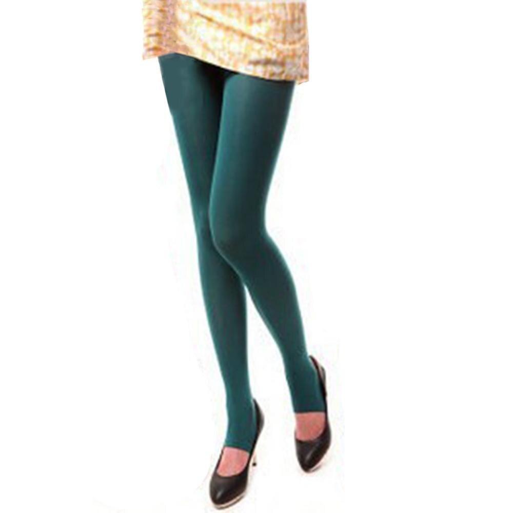 Шаг ноги женские теплые колготки 120D бархатные Collants весна осень Чулочные изделия Fantaisie сексуальные колготки эластичные Strumpfhose тонкие Medias - Цвет: Dark Green
