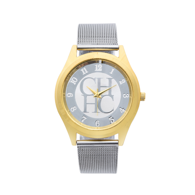 2018 New Brand Gold Silver Casual Quartz Watch Klockor Metal Mesh - Damklockor - Foto 2