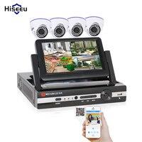4CH CCTV System 960H DVR HDMI 4PCS 600TVL IR Dome Indoor CCTV Camera Home Security System