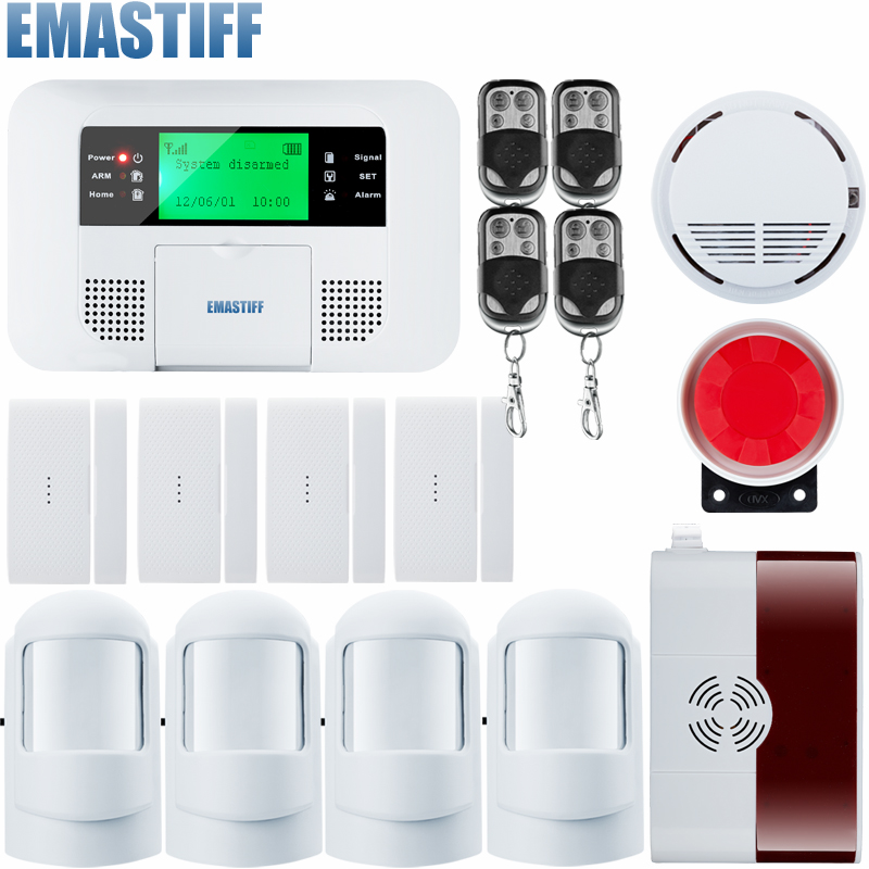 G4B Android ISO App Wireless GSM Home Alarm System SIM Smart Home PSTN Burglar Security Alarm System Kit PIR infrared brand new security alarm system kit smart ios android app 868mhz gsm pstn alarm system with friendly interface