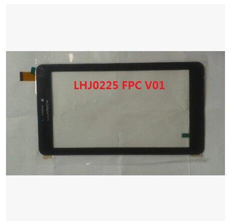 Новый 7-дюймовый планшет емкостный сенсорный экран LHJ0225 FPC V01 черный бесплатная доставка