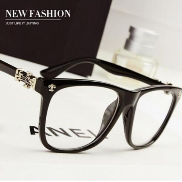 2fba3fe186e Fashion designer 2016 new big brand style brand women s glasses frames  wholesale fashion men eyeglasses ladies reading glasses