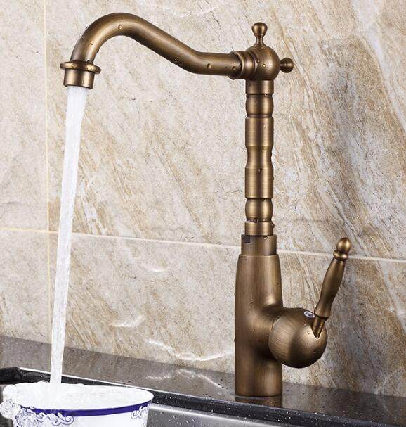 New Arrivals Kitchen Faucet Sink Faucet Torneira Cozinha Lavabo antique bronze Brass Wate Tap Sink Faucet Mixer Tap Faucet gappo new brass kitchen faucet mixer blackened kitchen sink tap single handle filtered water tap torneira cozinha crane g4390 10
