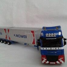 1:50 KAIDIWEI полуприцеп грузовой автомобильный контейнер игрушка