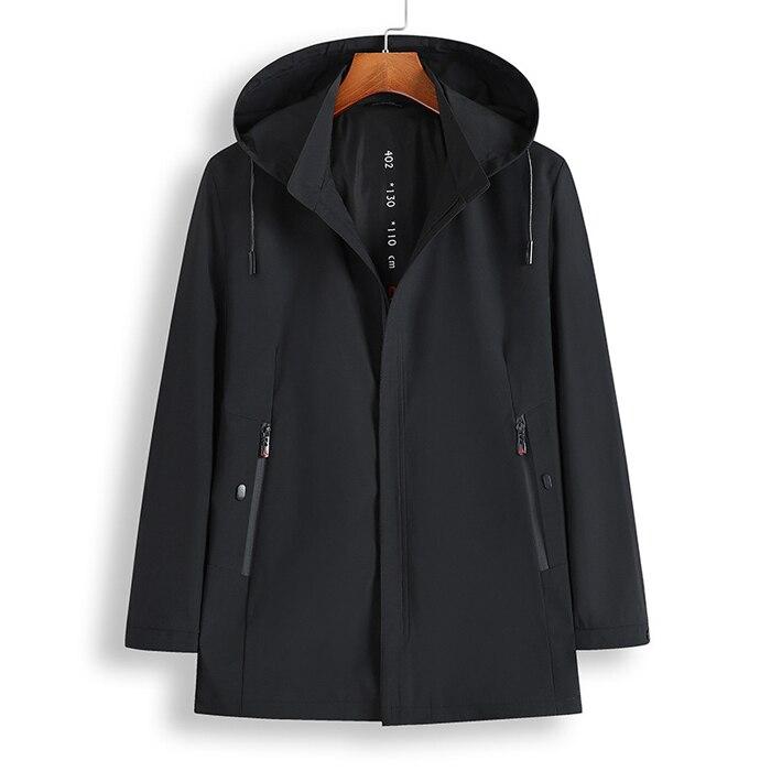 casual solto com capuz jaqueta de qualidade