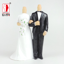 Wedding Cake Topper wedding gift custom avatar personality custom real doll custom clay dolls fixed resin body SR142