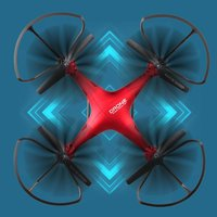 X58 Радиоуправляемый Дрон игрушки с камерой оси самолет Радиоуправляемый квадрокоптер Дрон модель вертолета электронные игрушки для Детски