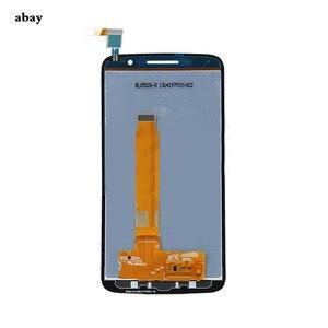 Image 4 - עבור Alcatel One Touch פופ 2 פרימיום 7044 OT7044 7044X 7044Y 7044K 7044A LCD תצוגת עצרת מגע החלפת מסך חלקי