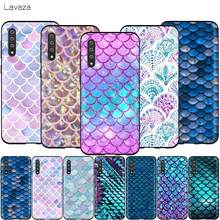 Lavaza シェル人魚の尾スケールサムスンギャラクシー S6 S7 エッジ J6 S8 S9 S10 プラス A3 A5 A6 a7 A8 A9 注 8 9(China)