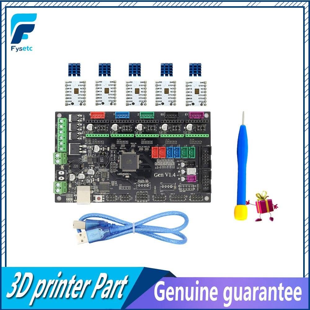 Gen V1.4 4 couches PCB Conseil 3D Imprimante Kit + 5 pcs TMC2100/TMC2130/TMC2208/DRV8825/ a4988 Moteur Stepstick Pilotes