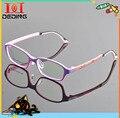 Детские тонкие супер - жесткая оптических стекол мальчики девочки TR90 Myoptia очки кадр crianças Imprimir Quadros DD0316
