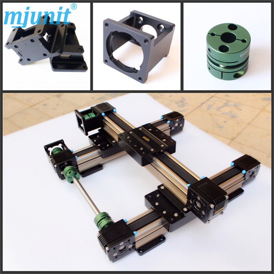 high speed belt drive linear guide rail bearing  motion cross roller ball linear rail guide roller shaft guideway toothed belt driven